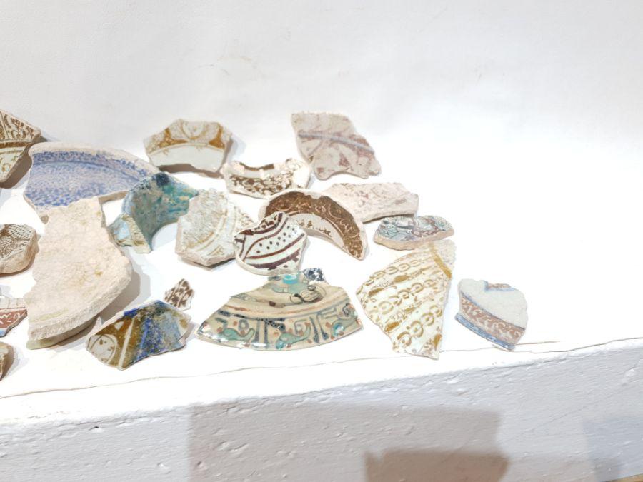 A Set of Islamic Ceramic Fragments - Image 3 of 5