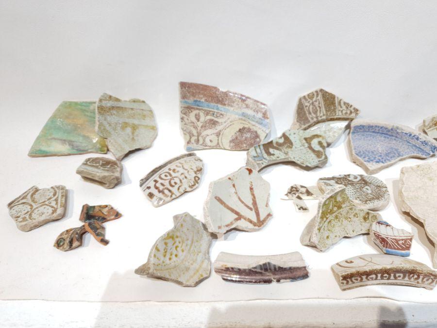 A Set of Islamic Ceramic Fragments - Image 4 of 5