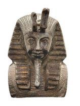 Solid Silver Figure Of King Pharaoh Tutankhamun