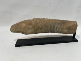 Bactrian Marble Horse Handle