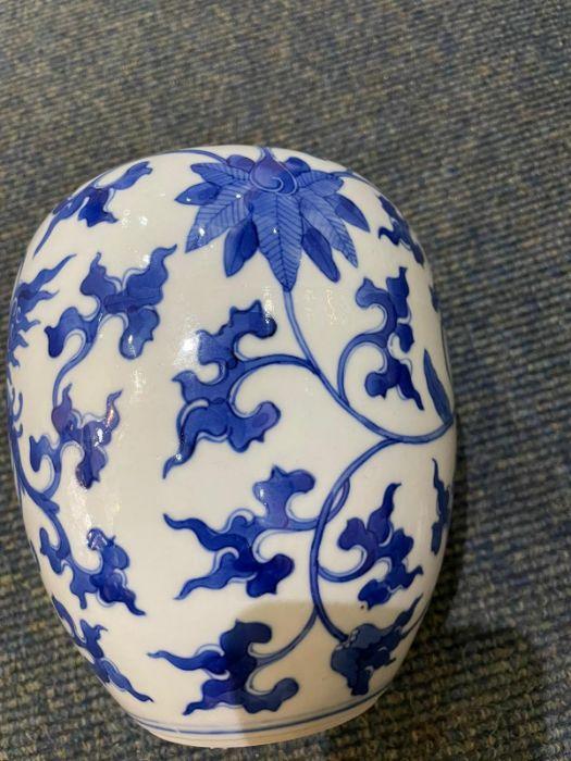 Pair Of Chinese Blue & White Ginger Jars Yongzheng six character mark - Image 15 of 21