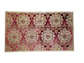 16th Century Ottoman Silk Velvet Panel