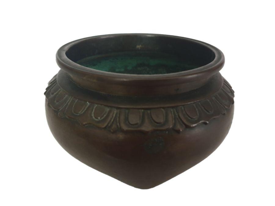 19th Century Chinese Bronze Tripod Incense Burner