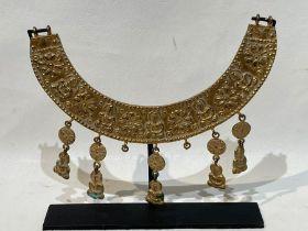 Gandhara Silver Gold Gilt Necklace
