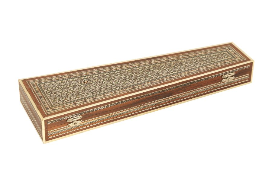 A KHATAMKARI MICRO MOASIC INLAY BOX