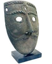 Bronze Roman Mask
