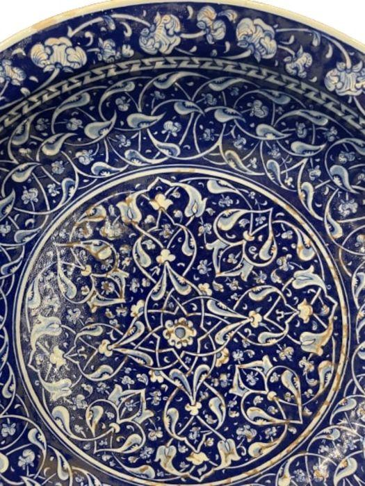 Turkish Iznik Style Platter - Image 2 of 8