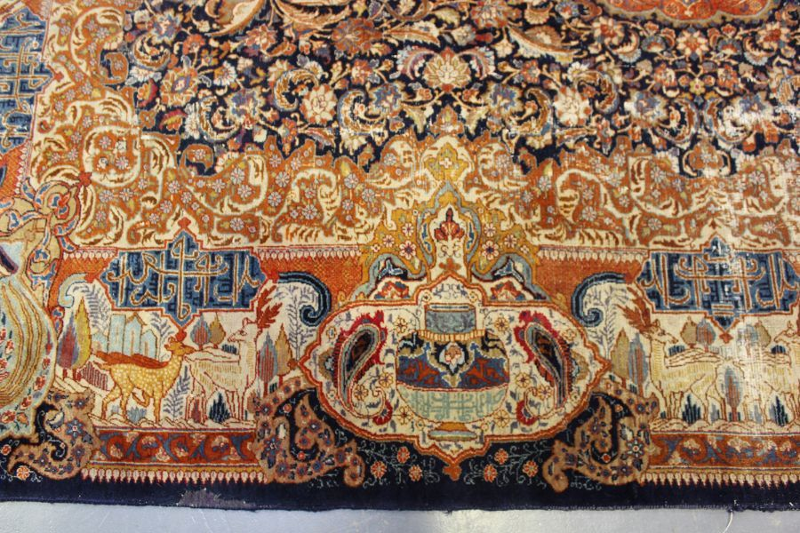 A TABRIZ CARPET, CENTRAL PERSIA, - Image 3 of 7