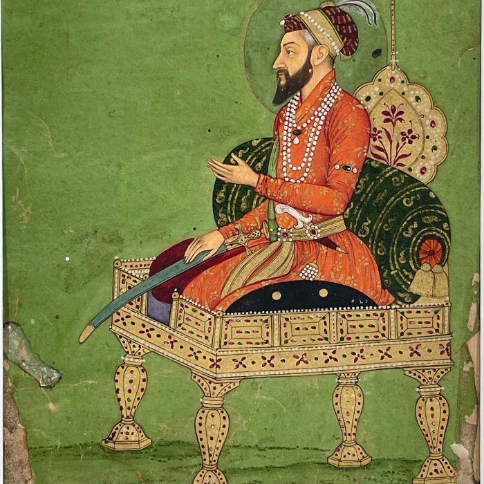 AURANGZEB, ALAMGIR, INDIA, MUGHAL, 18TH CENTURY - Image 3 of 5