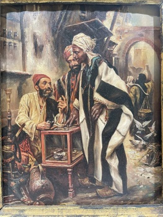 Orientalist Paintings Framed - Image 2 of 3