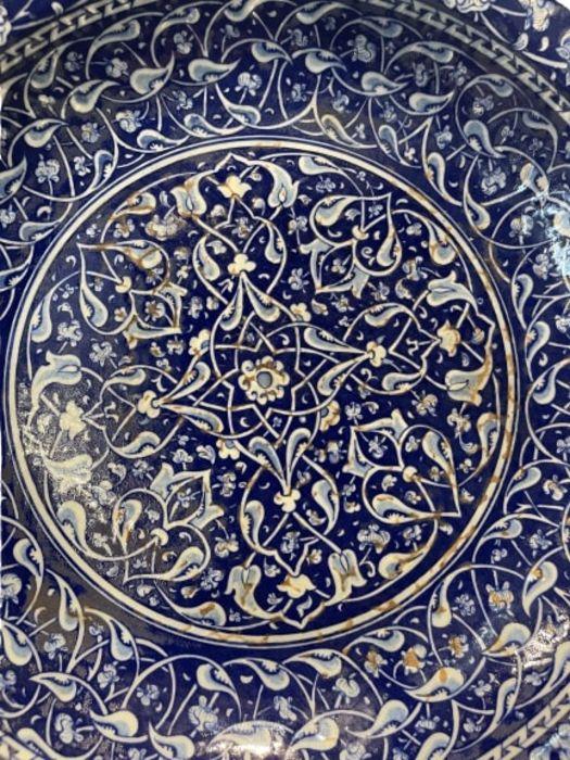 Turkish Iznik Style Platter - Image 3 of 8