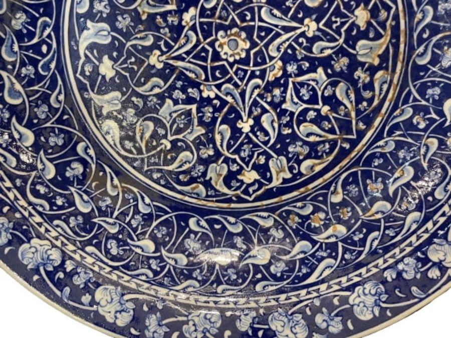 Turkish Iznik Style Platter - Image 4 of 8