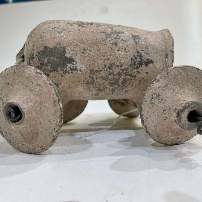 1st millennium BC clay toy water tanker Amlash period - Image 3 of 5