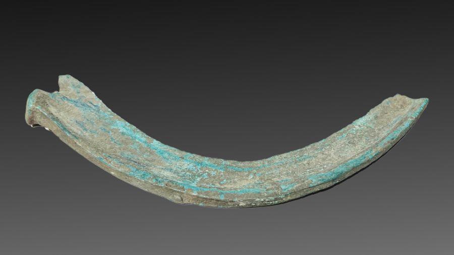 European Bronze Age period Sickel farming axe