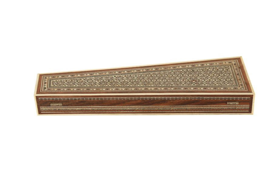 A KHATAMKARI MICRO MOASIC INLAY BOX - Image 4 of 4