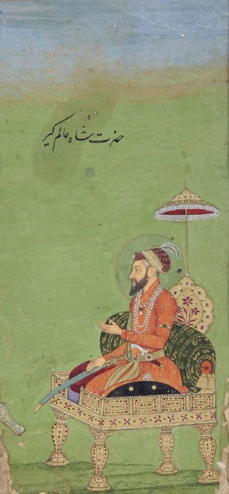 AURANGZEB, ALAMGIR, INDIA, MUGHAL, 18TH CENTURY