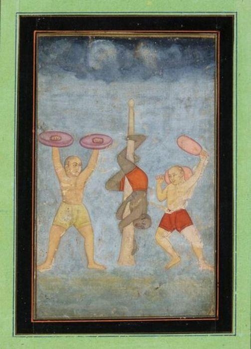 FOLIO FROM A RAGAMALA SERIES, INDIA PAHARI, CIRCA 1740-1750