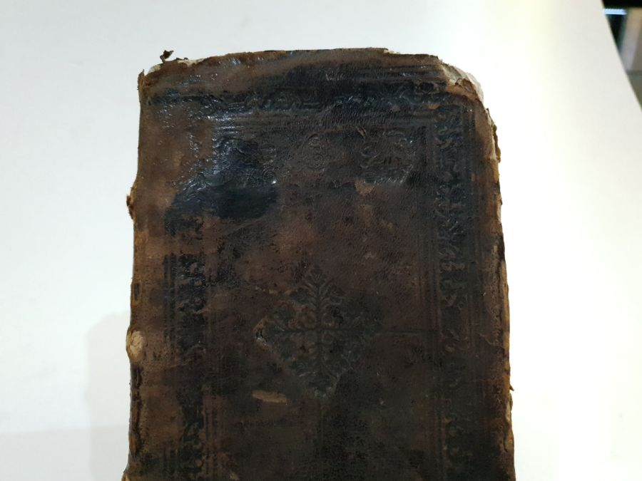 18th Century Printed Book About Christian Prayers Printed In Lebanon - Image 6 of 7