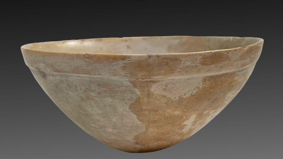 2 millennium BC Bactrian period stone bowl