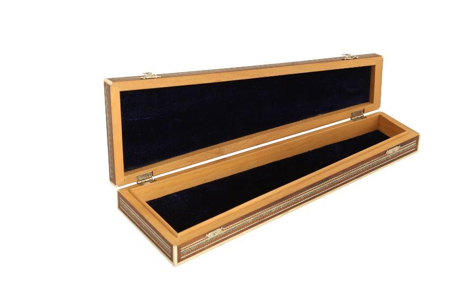 A KHATAMKARI MICRO MOASIC INLAY BOX - Image 3 of 4