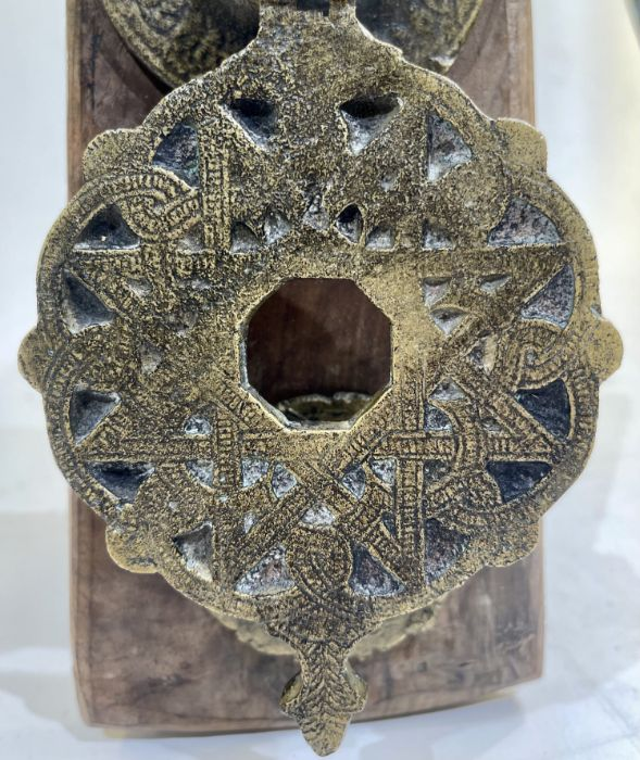 Mamluk 19th Century Door Handle - Image 2 of 3