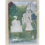 17th/18th Century Indian Painting On Paper