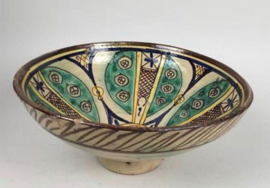A Nishapur Iranian Bowl - Image 3 of 4