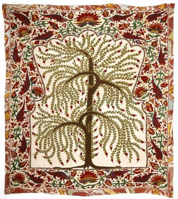 A GOOD UZBEK PRAYER ARCH, 'Tree of Life'