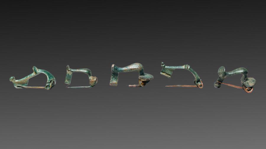 Assortment Of Roman Brooches