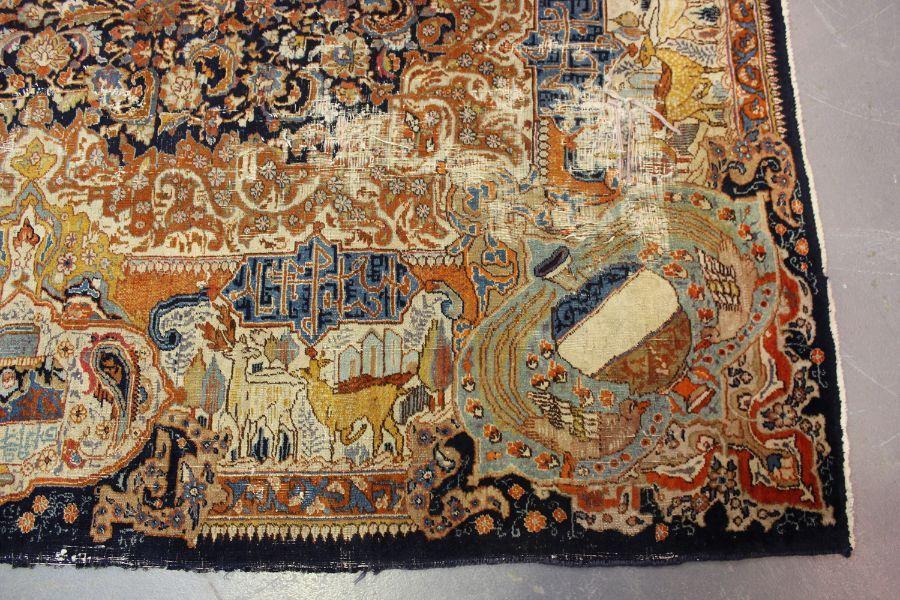 A TABRIZ CARPET, CENTRAL PERSIA, - Image 5 of 7