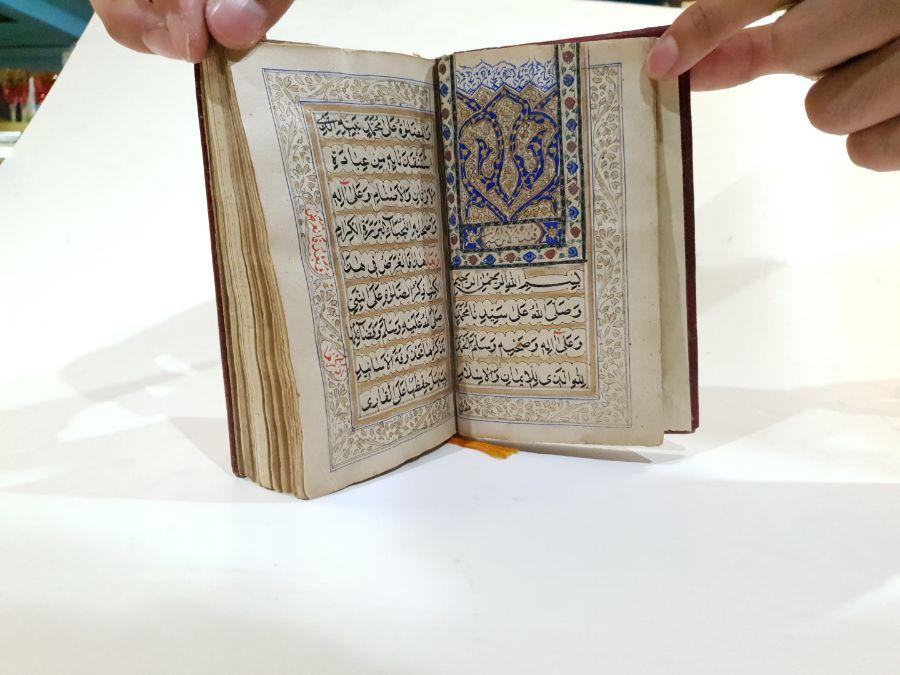 17th Century Turkish Ottoman Illuminated Prayer Book - Image 3 of 6