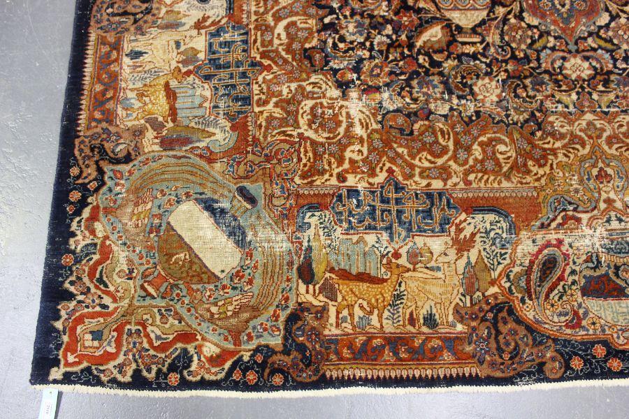 A TABRIZ CARPET, CENTRAL PERSIA, - Image 7 of 7