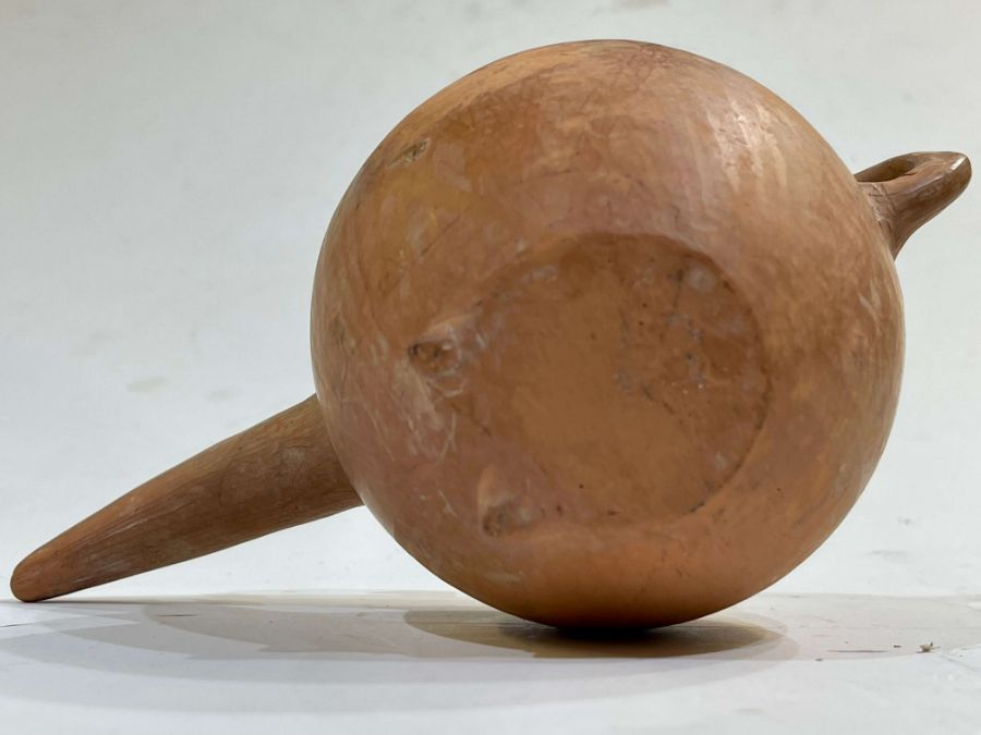 Amlash period red clay beaker circa 1st millennium BC - Image 6 of 7