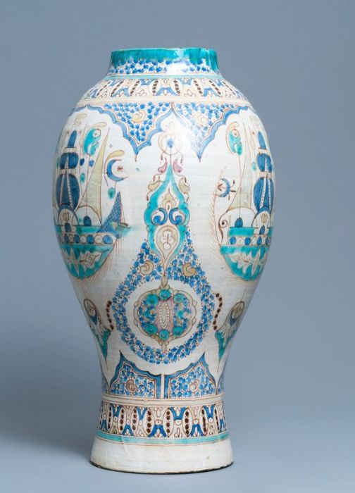 Large Moroccan Vase - Image 3 of 5