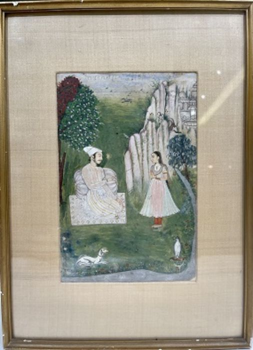 17th/18th Century Indian Painting On Paper - Image 2 of 2