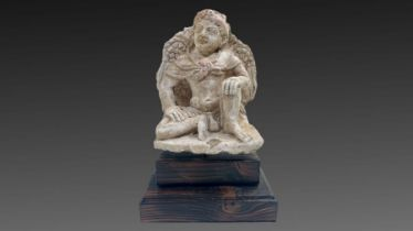 Gandhara Stucco Figure
