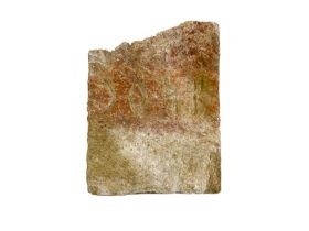 Large Egyptian Hieroglyphic Inscribed Marble Fragment