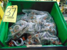 LOT OF SHACKLES, (in one box)