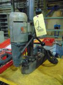 """MAGNETIC BASE DRILL, B&D, 1-1/4"""" CAP., 2-speed"""