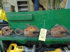 LOT OF PLATE LIFTS (3)