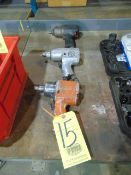 """LOT OF PNEUMATIC IMPACT WRENCHES (3), 1/2"""" CAP."""
