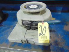 "STENCIL MACHINE, MARSH MDL. R 1"", S/N 26961"