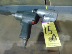 """LOT OF PNEUMATIC IMPACT WRENCHES (2), 1/2"""" CAP."""
