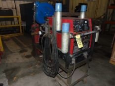 PORTABLE WELDING POWER SOURCE/GENERATOR, LINCOLN MDL. RANGER 8LPG, 200 amps AC & 180 amps DC output,