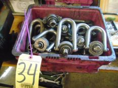 LOT OF SWIVEL BOLTS (in one box)
