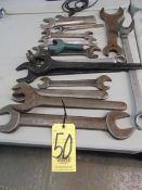 LOT OF WRENCHES, assorted