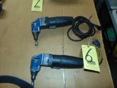 LOT OF ELECTRIC NIBBLERS (2)