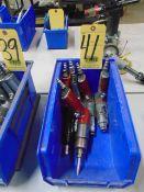 LOT OF PNEUMATIC SCREW GUNS (5) (in one box)
