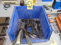 LOT OF WHEEL PULLERS, assorted (in one box)