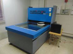 PRECISION PARTS SCANNER, FABRIVISION II 4' X 4', new 1997, (2) cameras, computer, S/N 2103